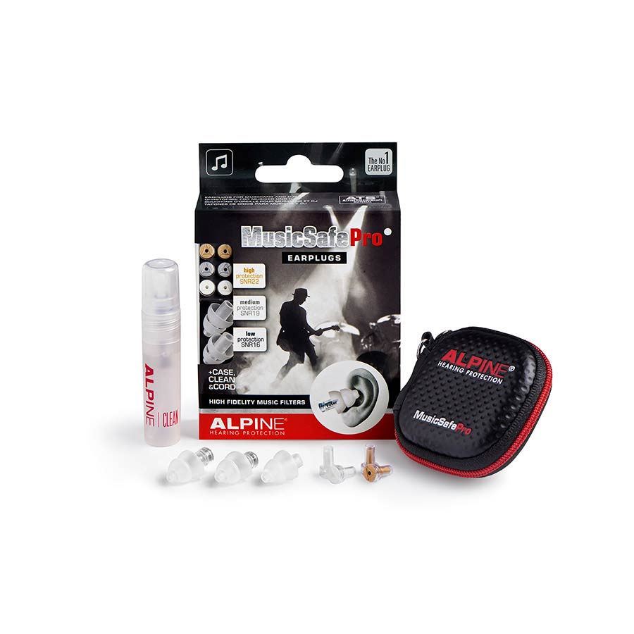 Alpine Music Safe Pro Ear Plugs transparant
