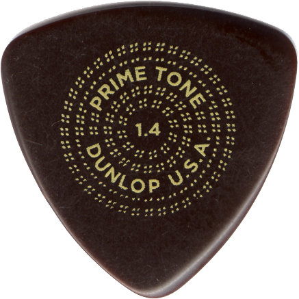 Dunlop PrimeTone Triangle Sculpted Plectrum 1.40mm