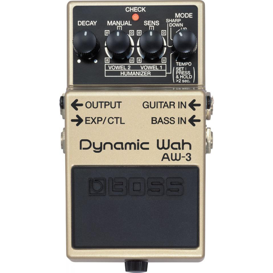 Boss AW-3 Auto Wah Pedaal