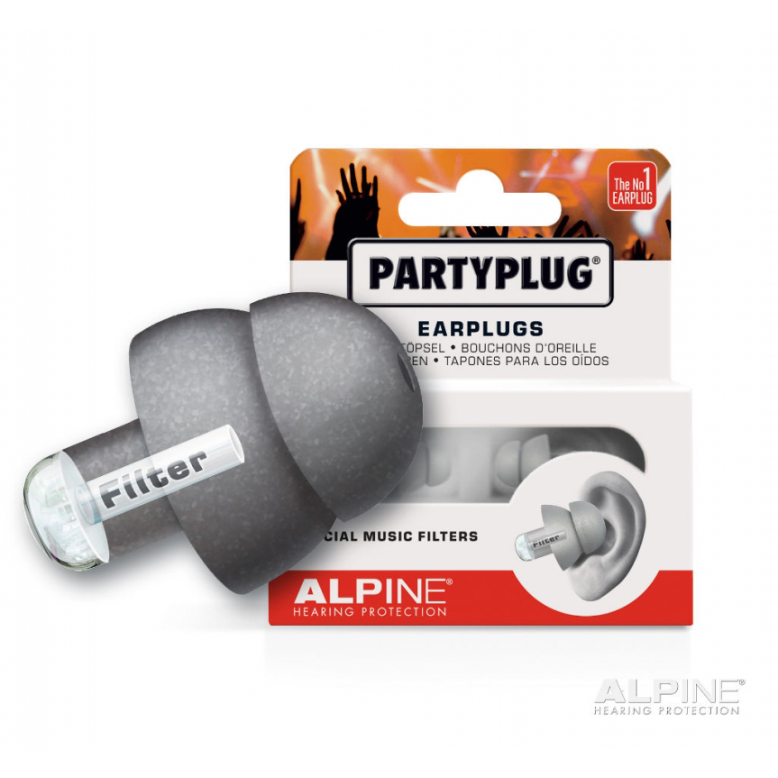 Alpine Music Safe Party Plug Ear Plugs