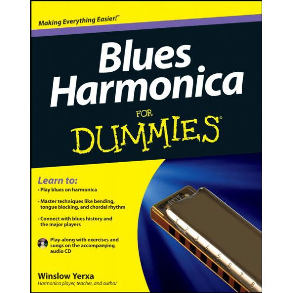 Bluesharmonica For Dummies + CD