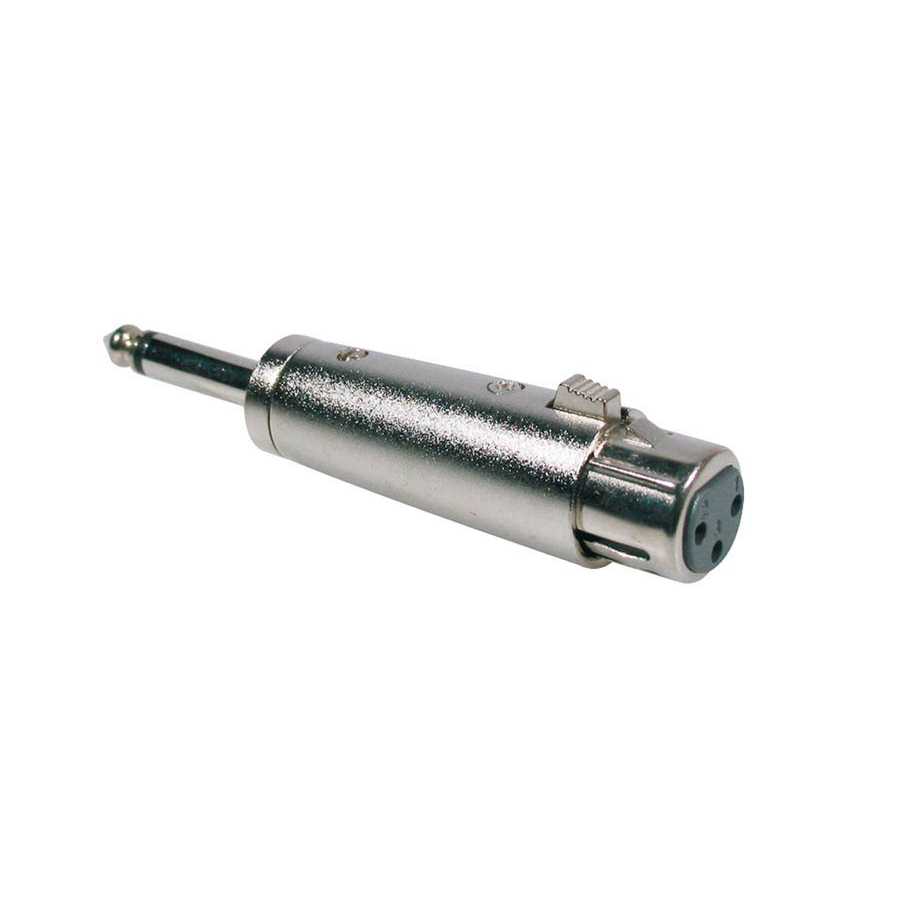 Boston Adaptor XLR Female, 6.3 mm Jack Mono