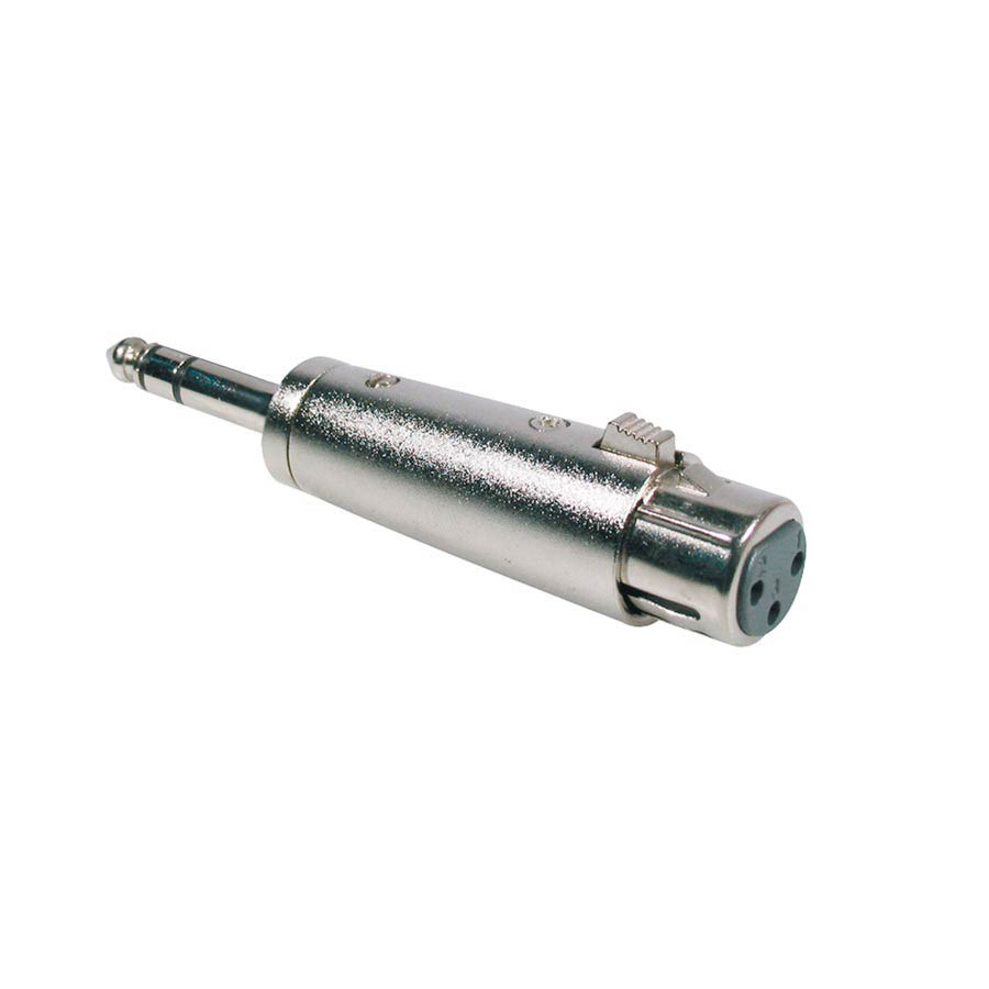 Boston Adaptor XLR Female, 6.3mm Jack Stereo