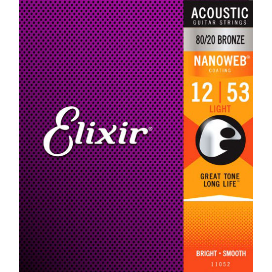Elixir 11052 Acoustic Guitar Strings