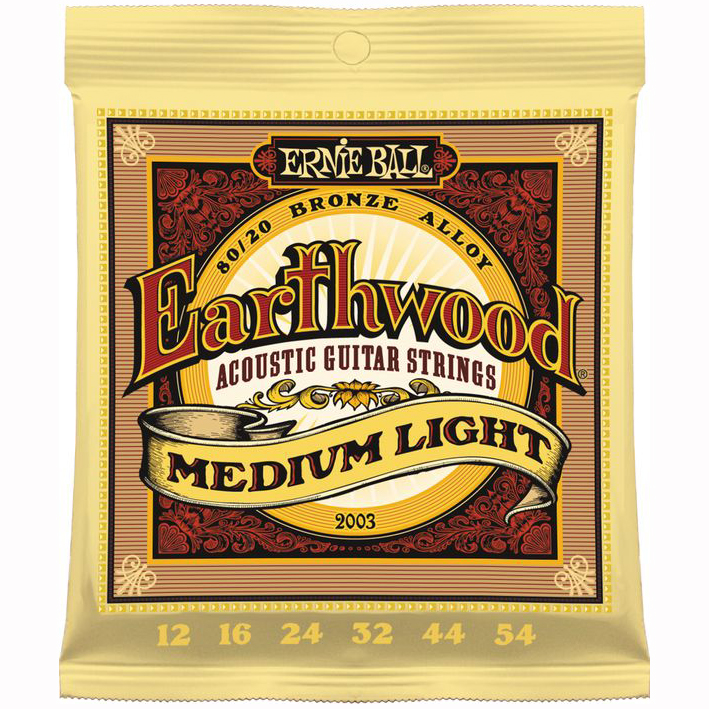 Ernie Ball 2003 Earthwood Medium Light Akoestische Snaren