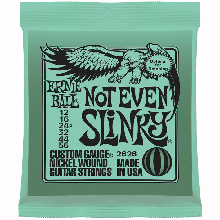 Ernie Ball 2626 Not Even Slinky Electric Guitar Strings
