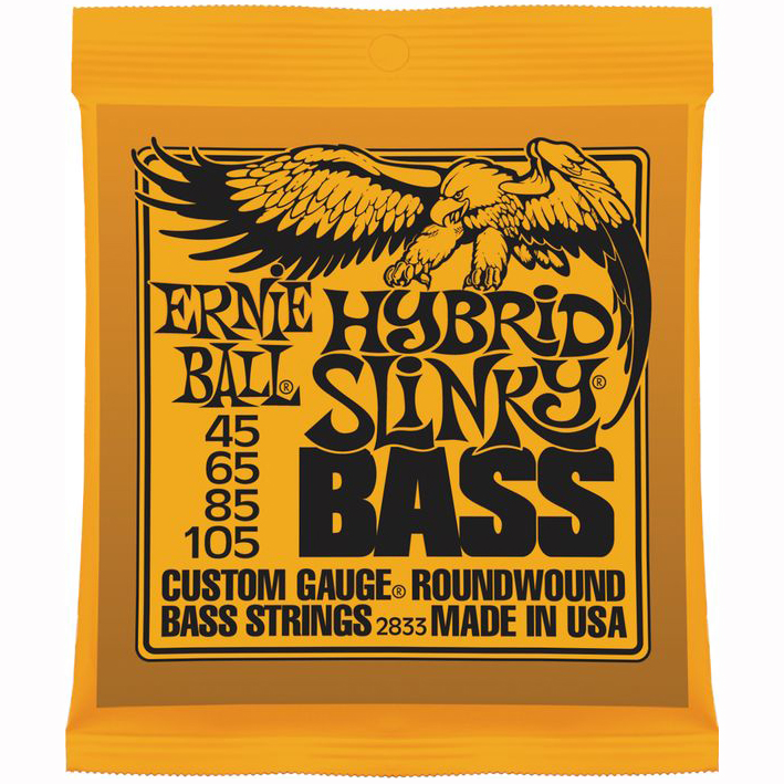 Ernie Ball 2833 Hybrid Slinky Bass Guitar Strings