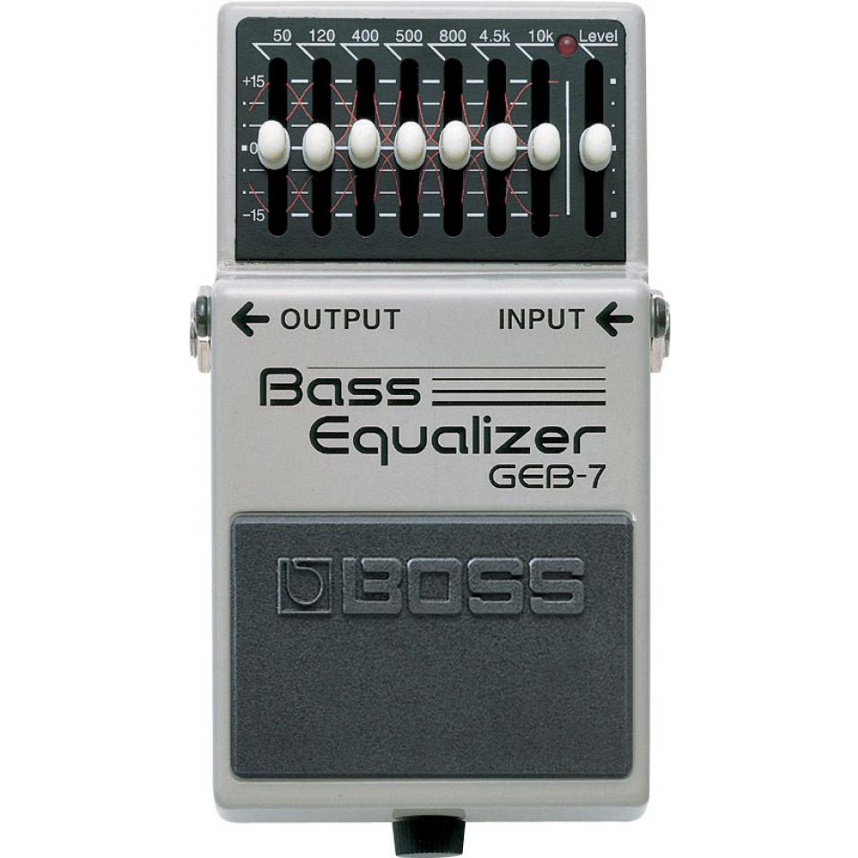 Boss GEB-7 Bas Equalizer Pedaal