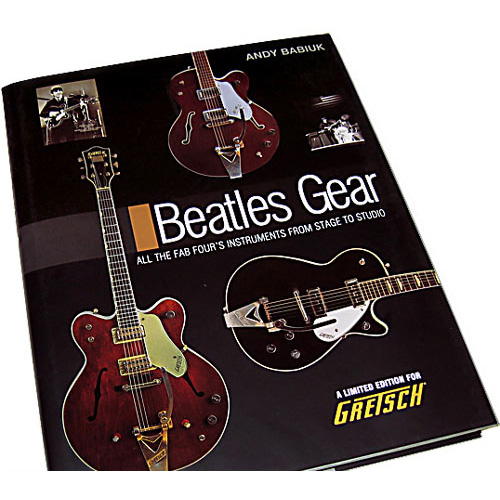 Beatles Gear Boek Gretsch Deluxe Edition