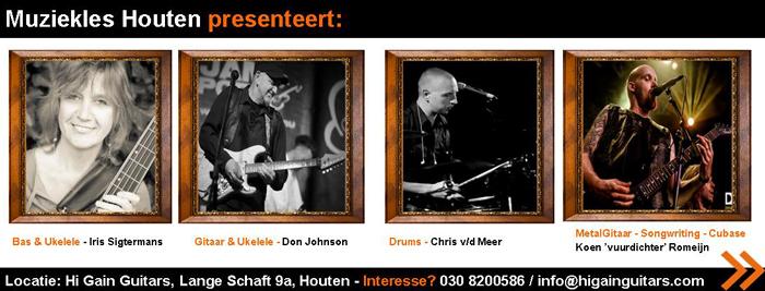 Muziekles Houten