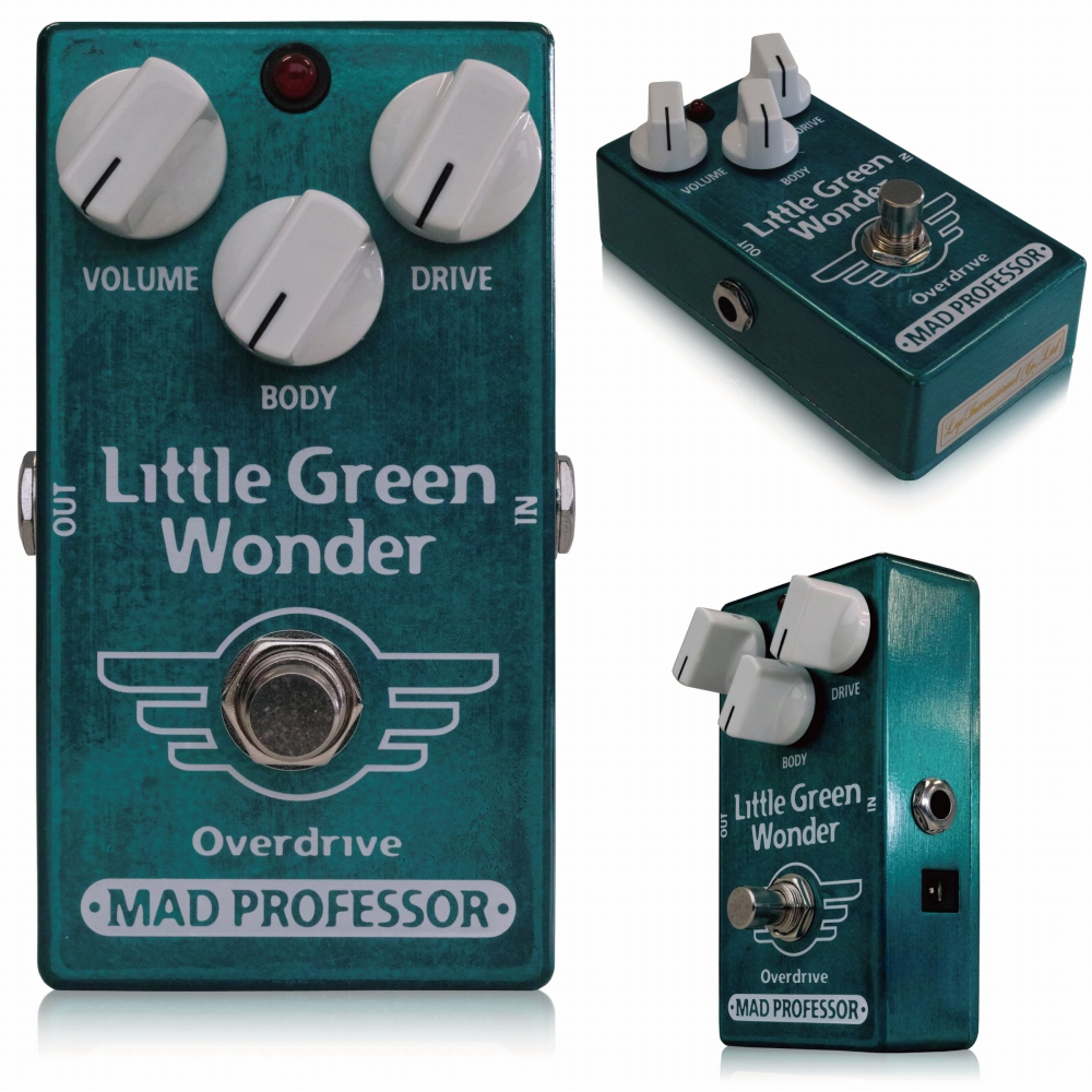Mad Professor Little Green Wonder Overdrive Pedaal