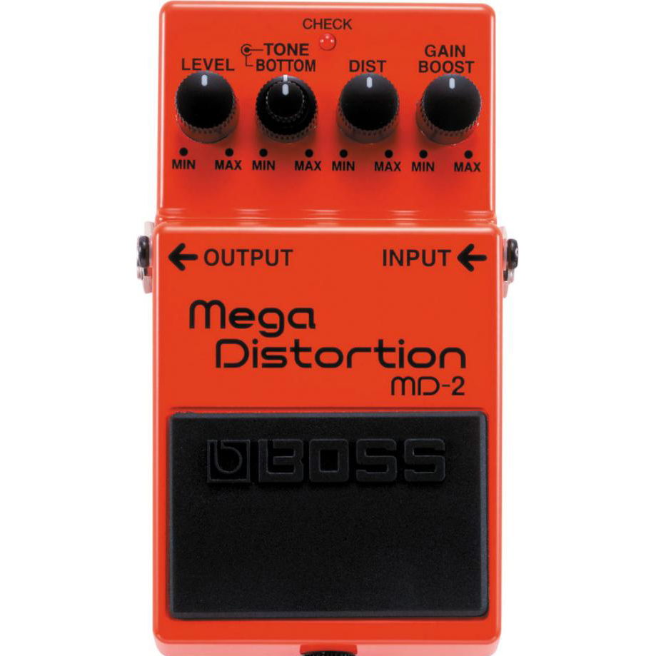 Boss MD-2 Mega Distortion Pedaal