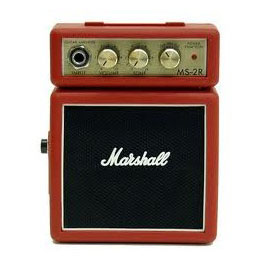 Marshall MS2R Micro Half Stack Red Mini Guitar Amplifier