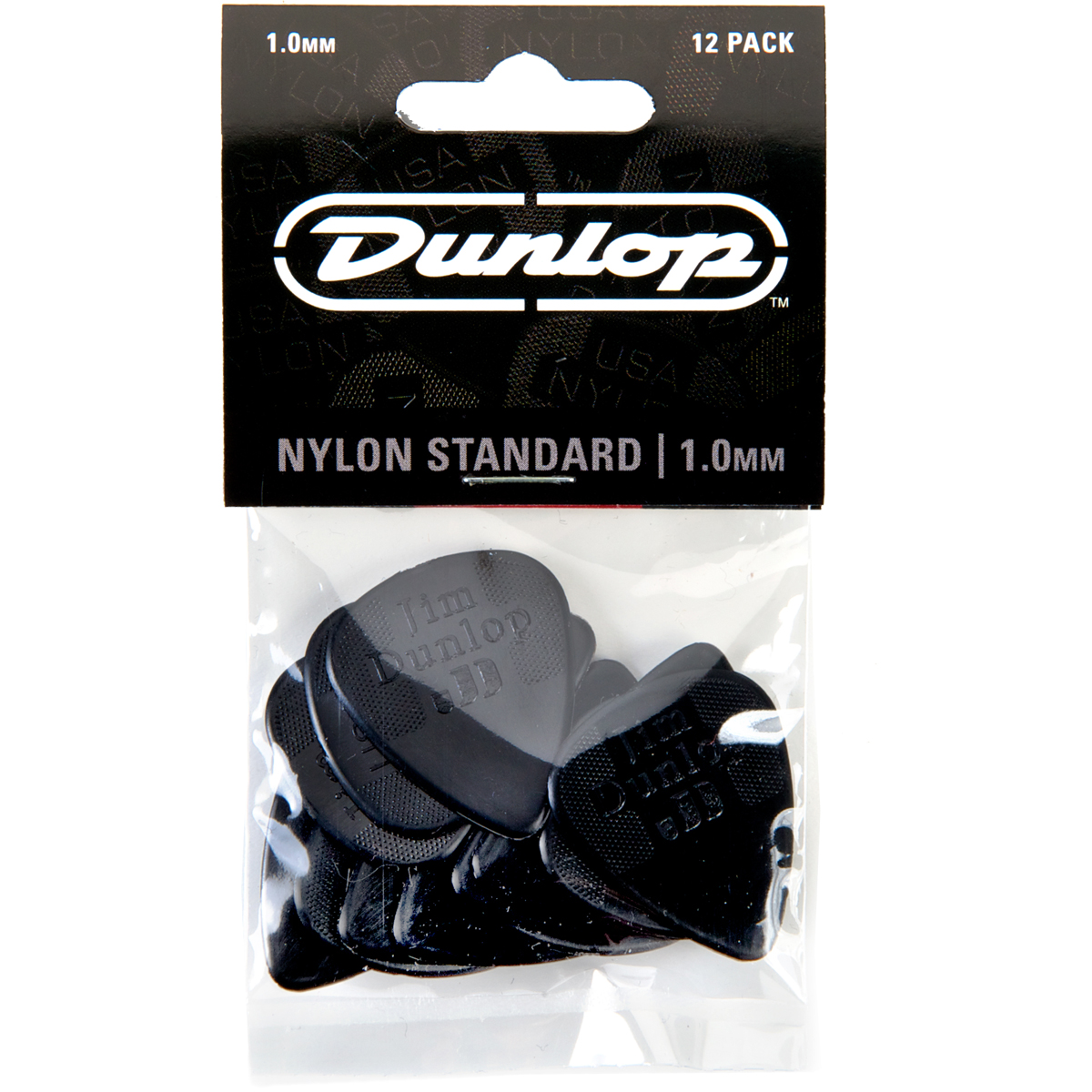 Dunlop Nylon 1.00mm Plectrums 12 Pack