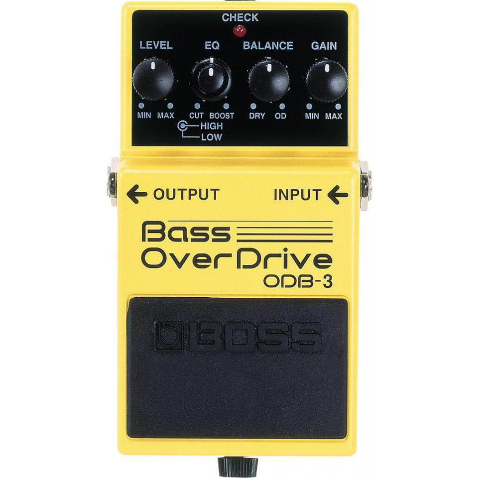 Boss ODB-3 Bass Overdrive Pedaal