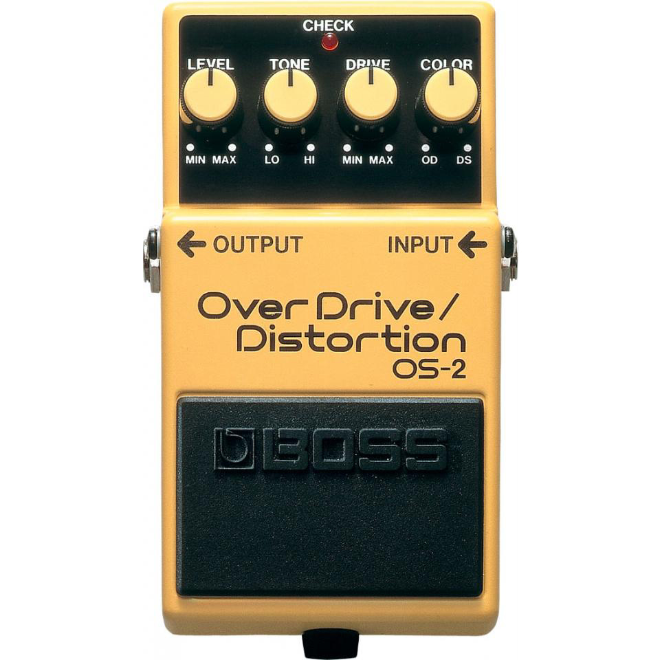 Boss OS-2 Overdrive Distortion Pedaal