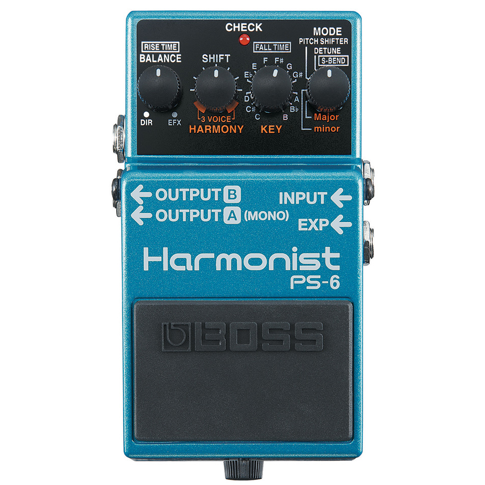 Boss PS-6 Harmonist Pitchshift Pedaal