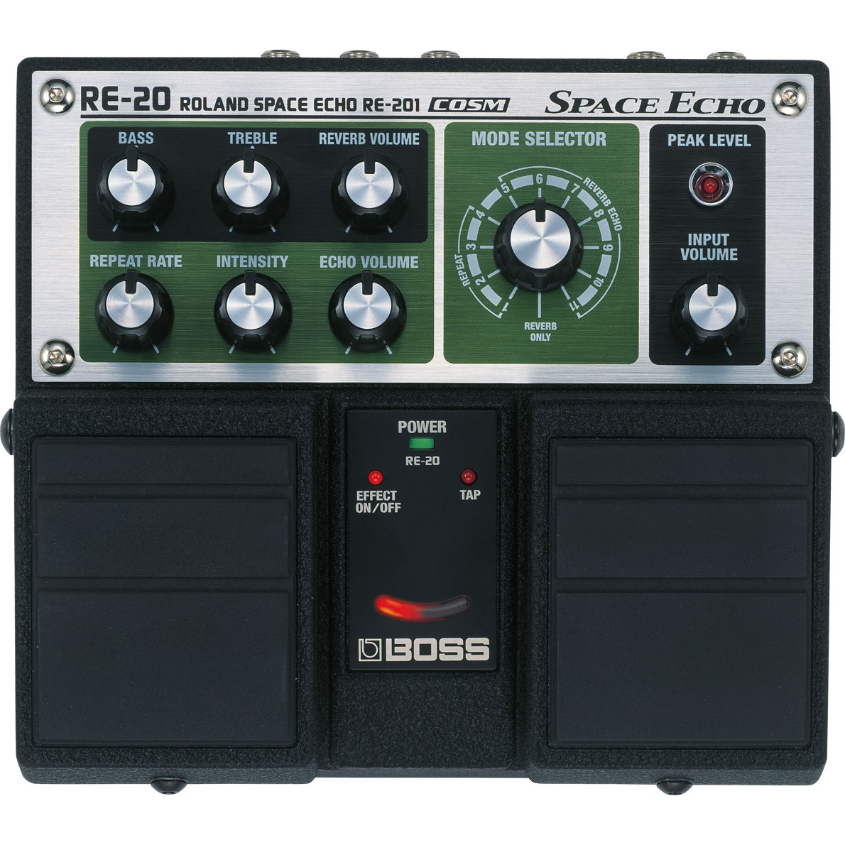 Boss RE-20 Space Echo Twin Pedaal