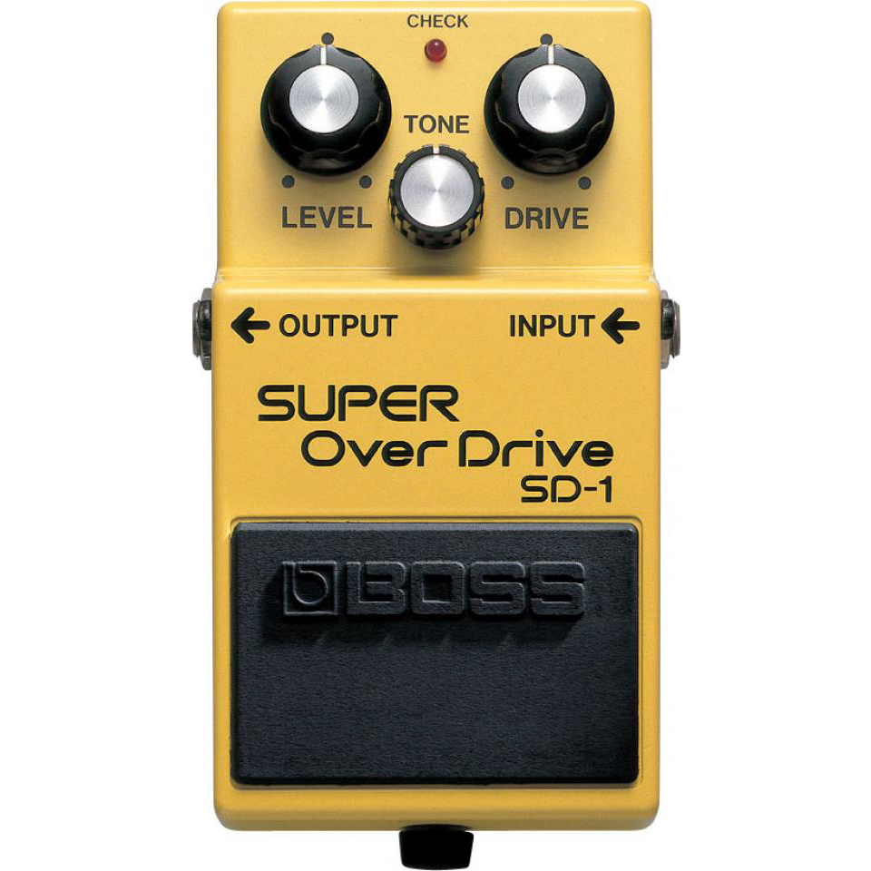Boss SD-1 Super Overdrive Pedaal