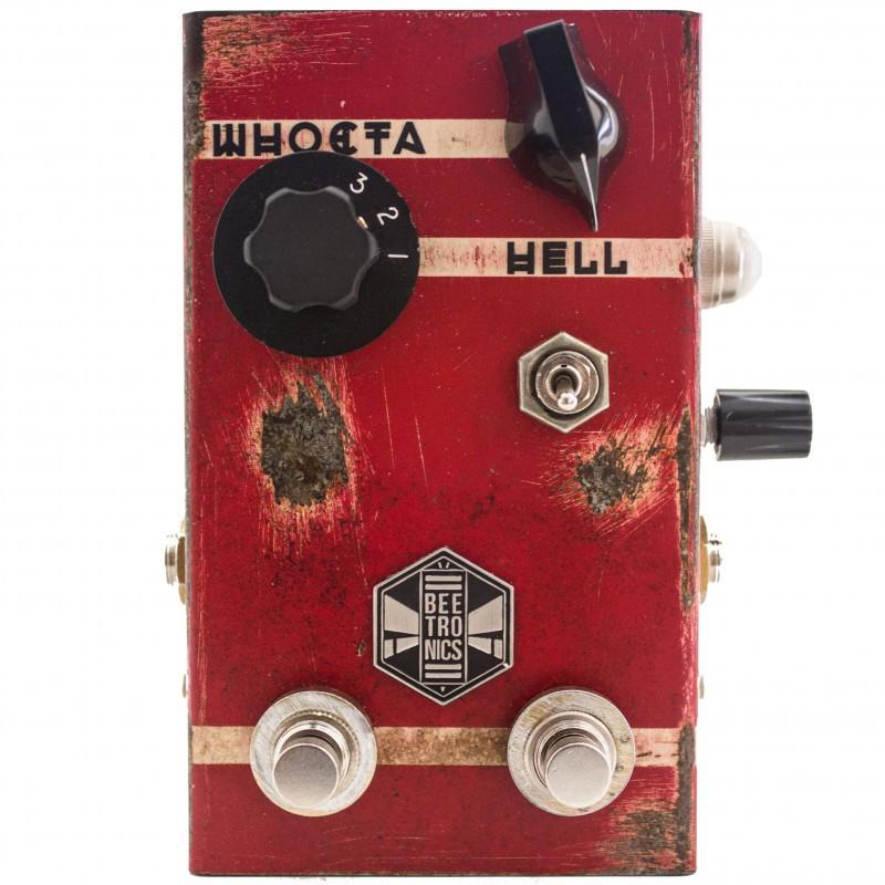 Beetronics Whoctahell Low Octave Fuzz Pedaal