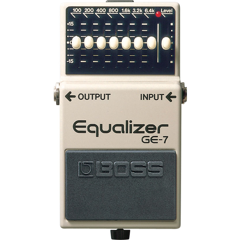 Boss GE-7 Graphic Equalizer Pedaal