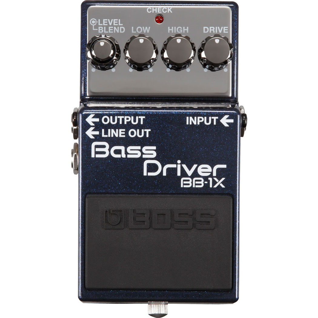 Boss BB-1X Bass Driver Distortion Voor Basgitaar