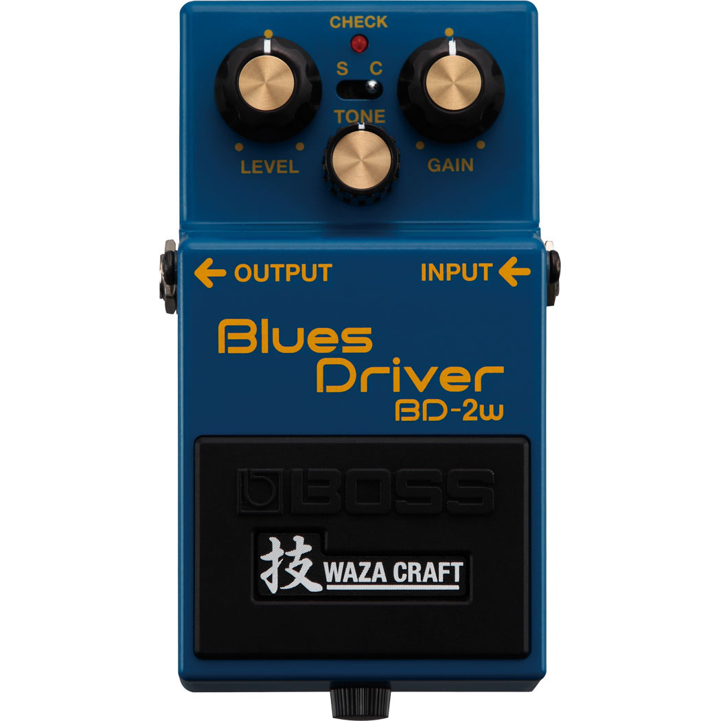 Boss BD-2W Waza Craft Blues Driver Pedaal