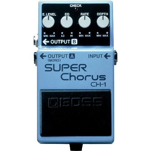Boss CH-1 Super Chorus Effectpedaal