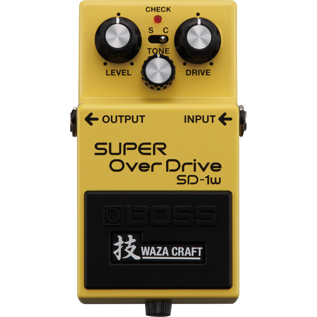 Boss SD-1W Waza Craft Super Overdrive Pedaal