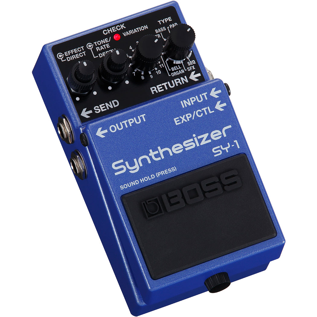 Boss SY-1 Synthesizer Effectpedal