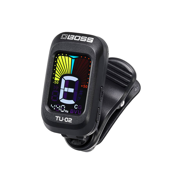 Boss TU-02 Clip On Tuner