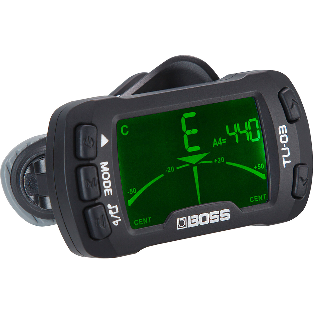 Boss TU-03 Clip On Tuner & Metronome