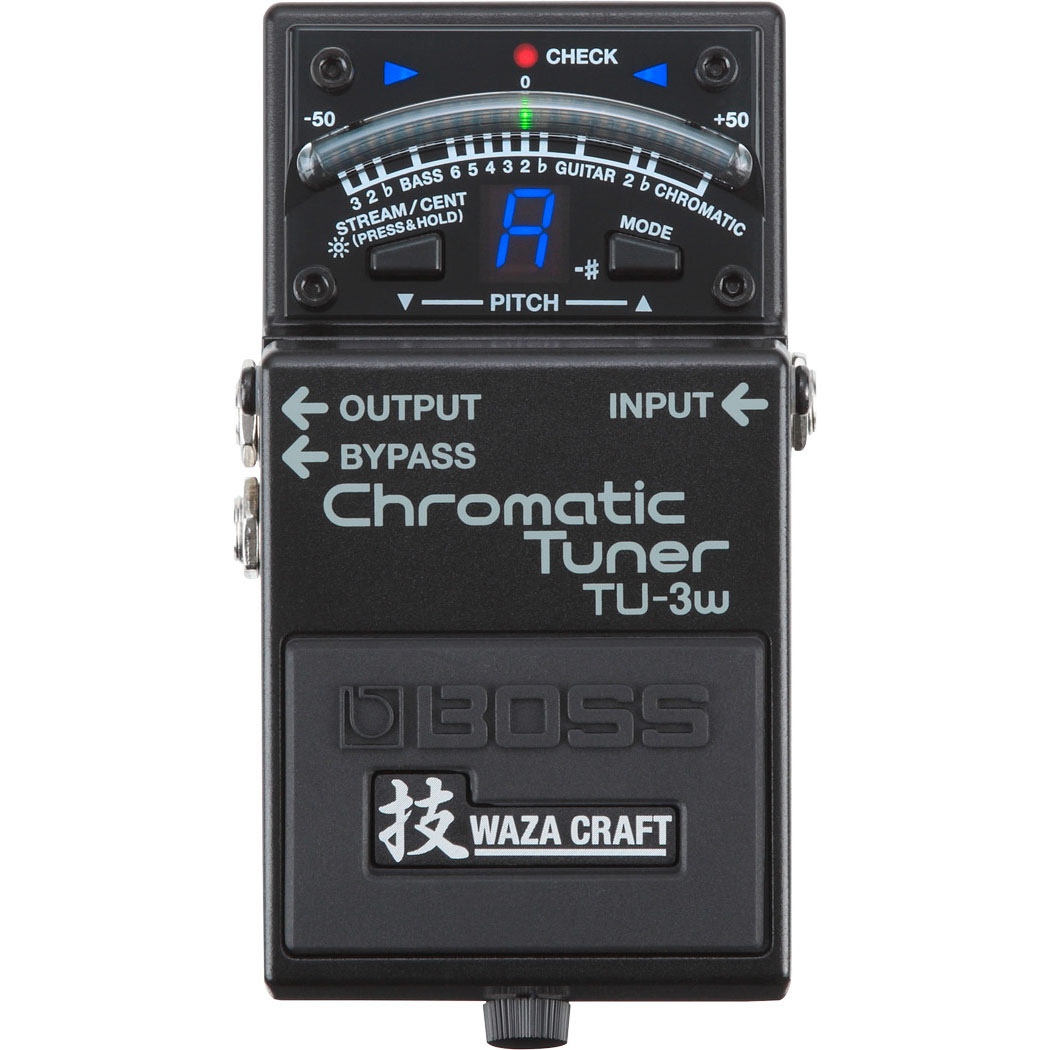 Boss TU-3W Waza Craft ChromaticTuner Pedal