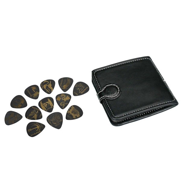 Boston PP-512 Pick Pouch Plectrumhoesje (Incl 12 Plectra)