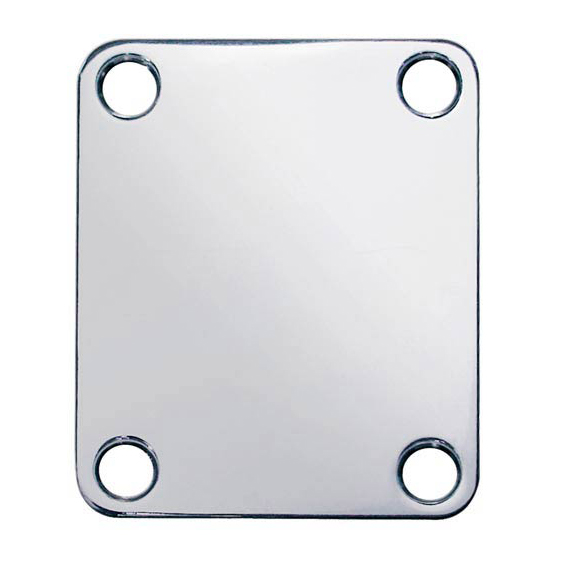 Boston NP-64-N Neck Plate Nickel