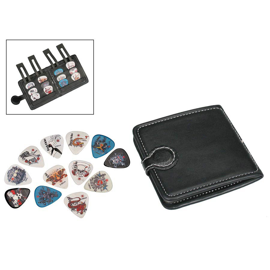 Boston PP-312 Pick Pouch Plectrumhoesje (Incl 12 Plectra)