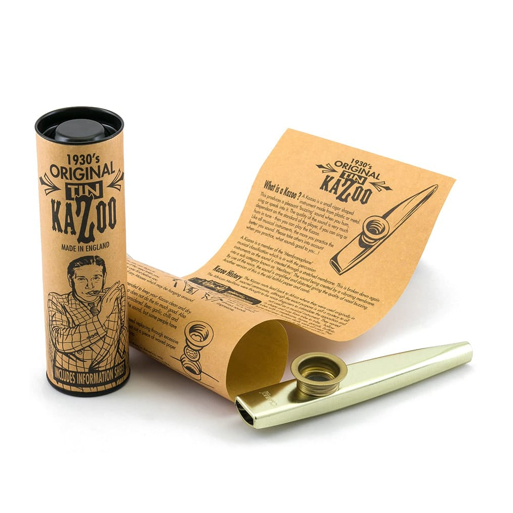 Clarke Tinwhistle Kazoo Gold