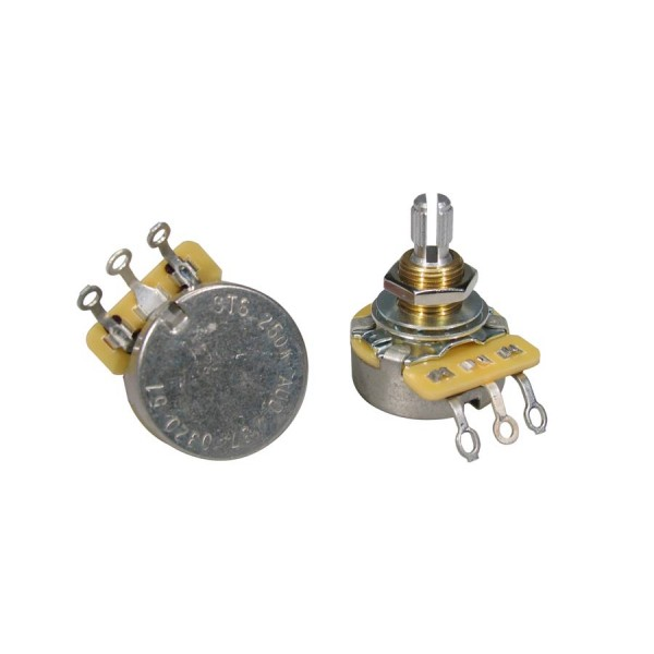 CTS USA 250K Audio Potentiometer Standard Length 3/8""