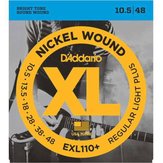 D\'addario EXL110+ Electric Guitar Strings