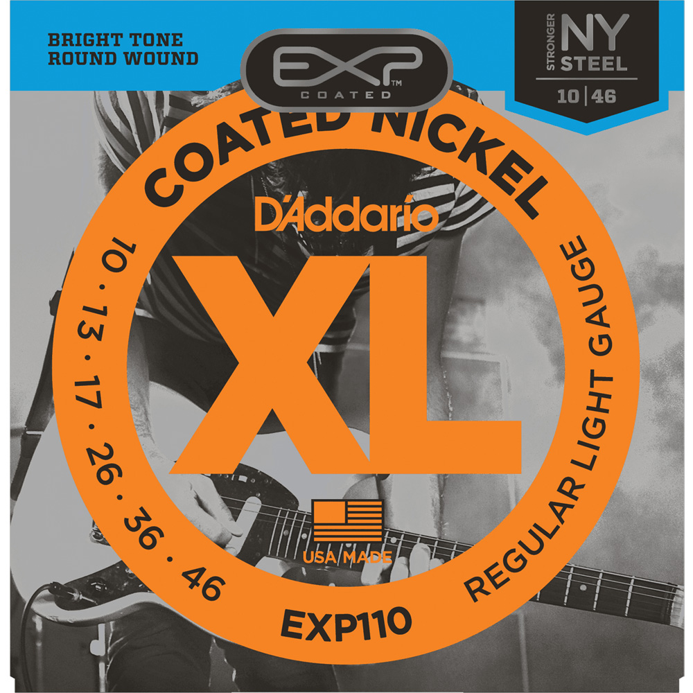 D'Addario EXP110NY Coated Electric Guitar Strings