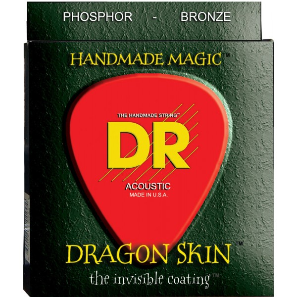 DR DSA10 Acoustic Guitar Strings 10-48