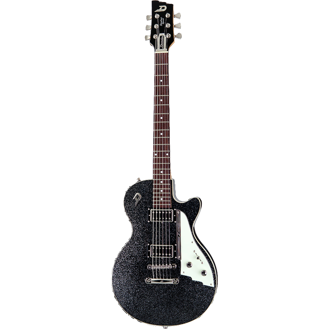 Duesenberg Starplayer Special Gitaar Black Sparkle