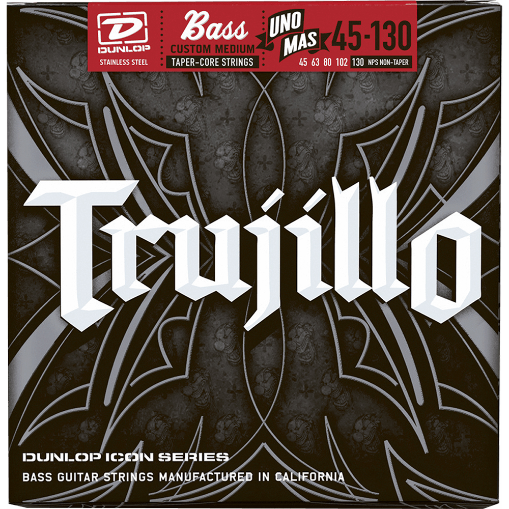 Dunlop RTT45130T Trujillo Strings For 5 String Bass