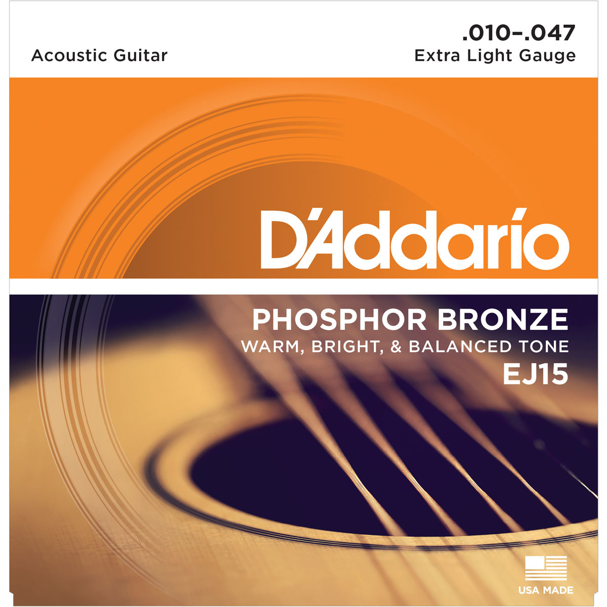 D'Addario EJ15 Acoustic Guitar Strings