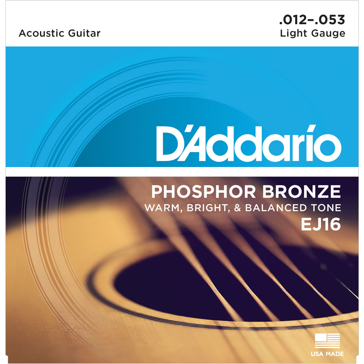 D'Addario EJ16 Acoustic Guitar Strings