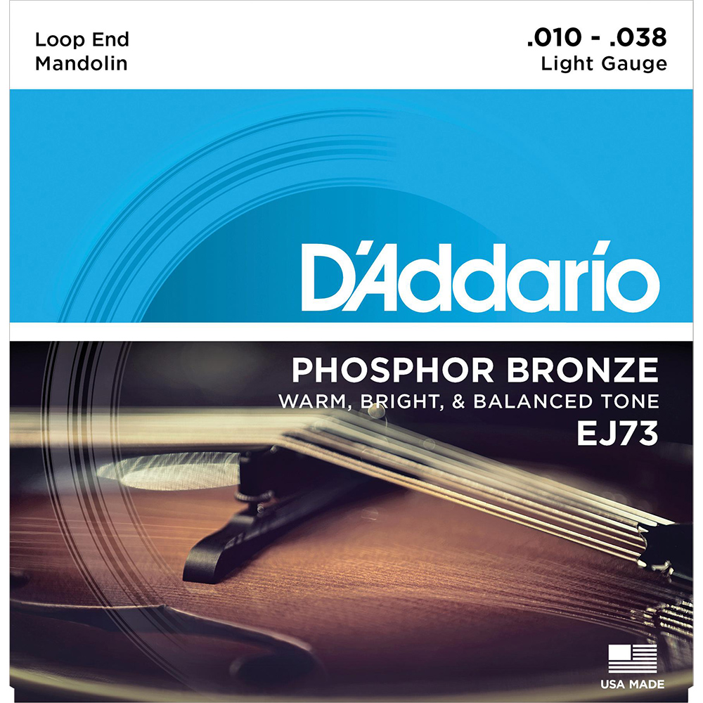 D'Addario EJ73 Mandolin Strings Light