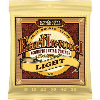 Ernie Ball 2004 Earthwood Light Akoestische Gitaarsnaren