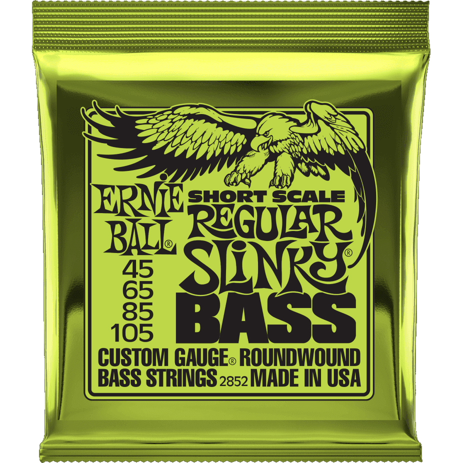 Ernie Ball 2852 Short Scale Bass Guitar Strings