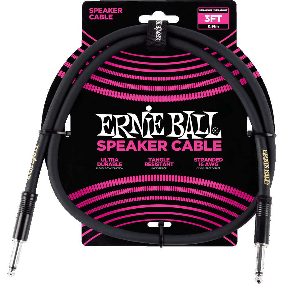 Ernie Ball 6071 Speaker Cable 0.9M