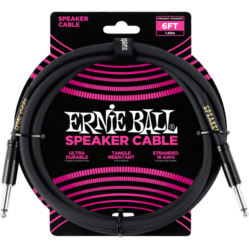 Ernie Ball 6072 Speaker Cable 1.8M